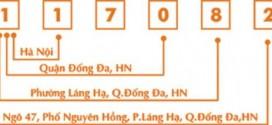 Mã bưu chính (Zip Postal Code) mã bưu điện Hà Nội là bao nhiêu?