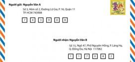 Mã bưu chính (Zip Postal Code) mã bưu điện TPHCM là bao nhiêu?