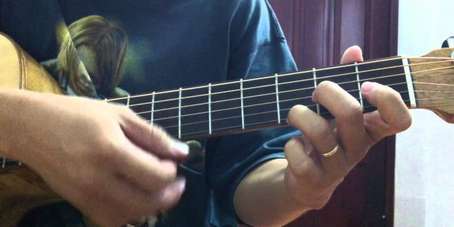 Tự học cách bấm hợp âm guitar cơ bản